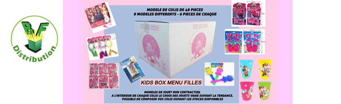 kids Box menu Fille