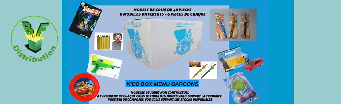 Kids Box menu garçon