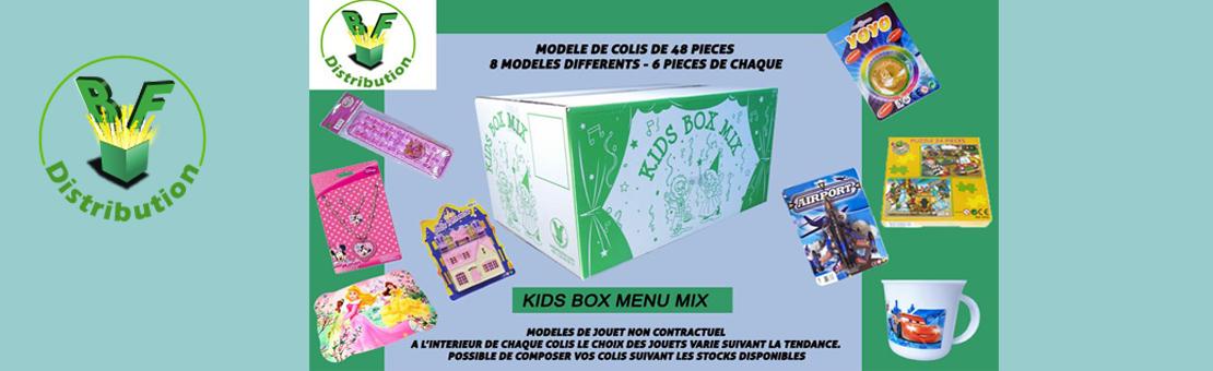 Kids Box Menu Mixte