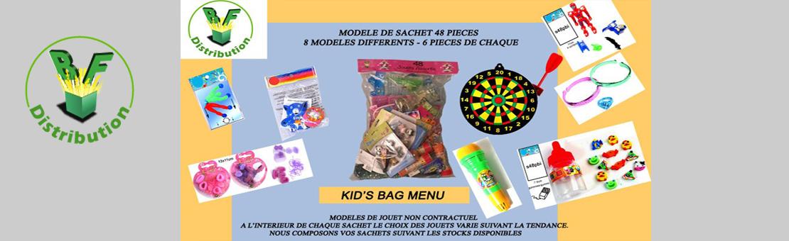 Kids bag Menu